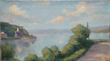 Adolphe ALBERT - Pintura - Paysage de Bretagne