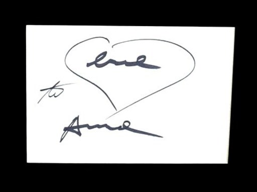 Andy WARHOL - Dibujo Acuarela - Love heart