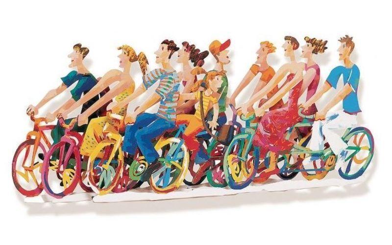 David GERSTEIN - Sculpture-Volume - Biking B