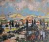 Bertoldo TAUBERT - Painting - Paysage Provencal