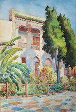 Ernest-Louis LESSIEUX (1874-1938) - La Maison des Arts Indigènes à Meknès au Maroc