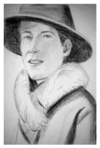 Alex KATZ - Drawing-Watercolor - Tracy