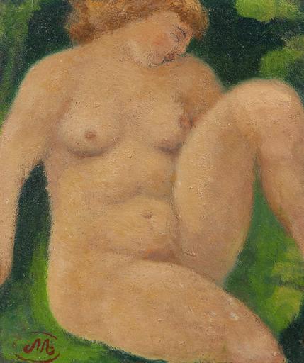 Aristide MAILLOL - Pintura - Baigneuse assise