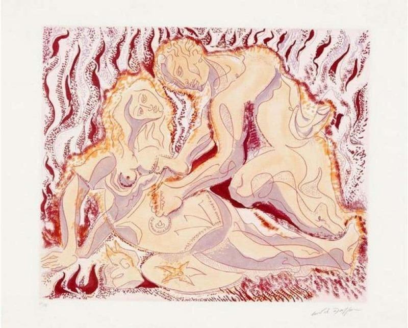 安德烈•马松 - 版画 - Siegfried und brunhilde