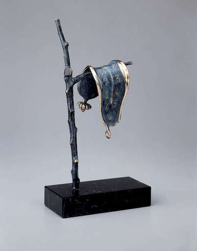萨尔瓦多·达利 - 雕塑 - Persistance of Memory Sculpture