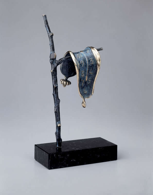 Salvador DALI - Sculpture-Volume - Persistance of Memory Sculpture
