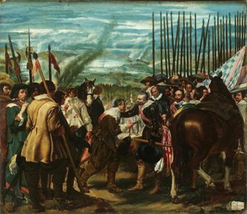 José MORENO CARBONERO - Pintura - La Rendición de Breda / Las Lanzas