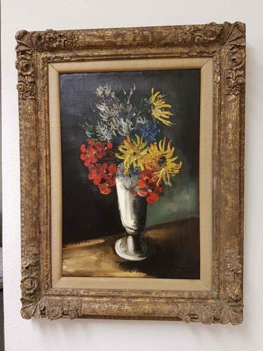 Maurice DE VLAMINCK - Painting - Fleurs dans un vase