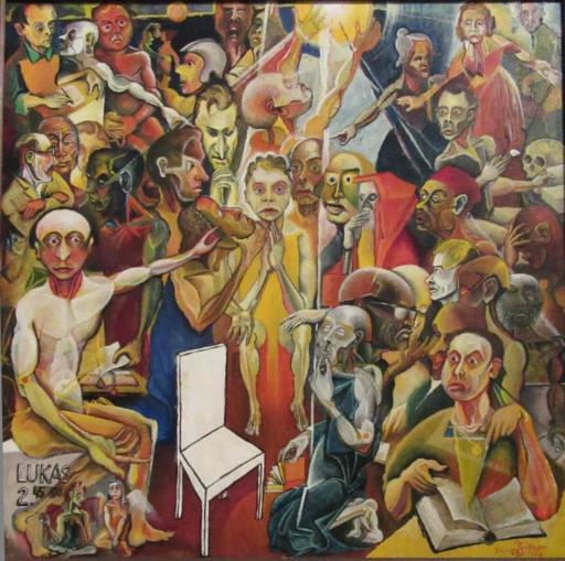 Manfred SILLNER - Pintura - LUKAS