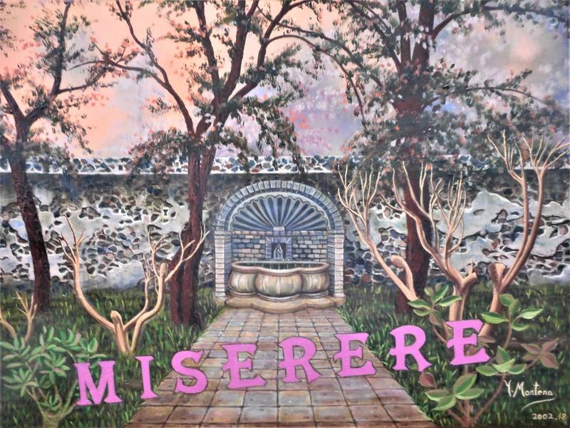 Isabel MORTERA - Pittura - El Jardín del Miserere