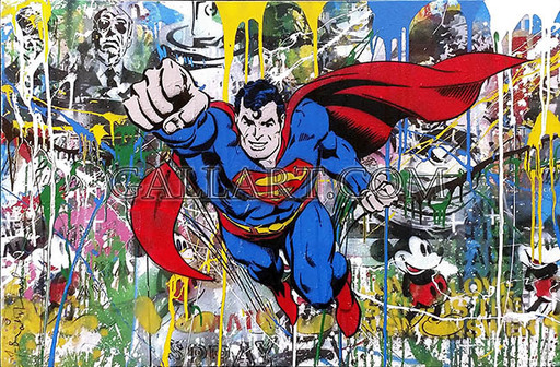 MR BRAINWASH - Painting - Superman