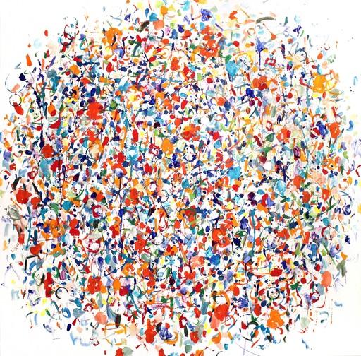 Claudie LAKS - Painting - Cytise