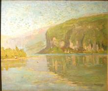 John JACOBSON - Painting - Bord de rivière