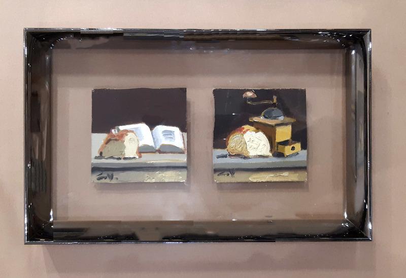 Claude VENARD - Gemälde - dyptique