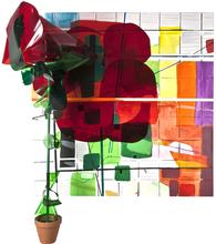 Bertille DE BAUDINIERE - Peinture - La Rose de Harlem