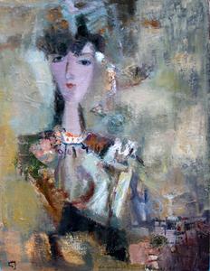 Levan URUSHADZE - Pittura - Gypsy