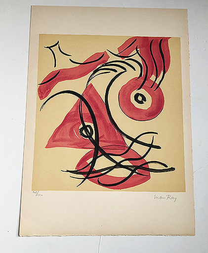 MAN RAY - Print-Multiple - DE L'ORIGIN DES ESPECES (9)