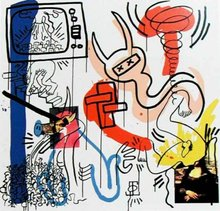 Keith HARING - Estampe-Multiple - Apocalypse 7