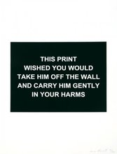 Laure PROUVOST - Stampa Multiplo - This print wished you would