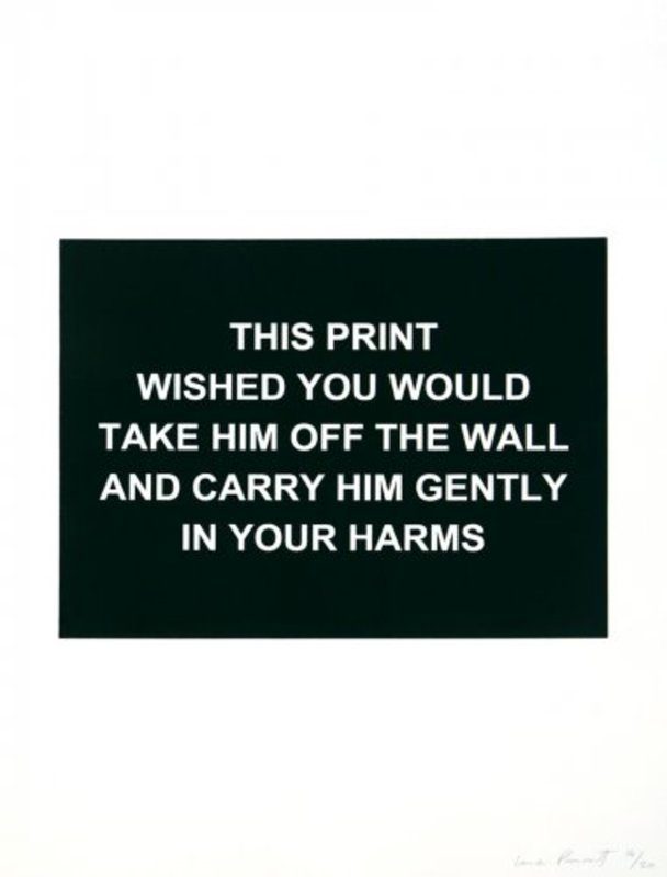 Laure PROUVOST - Estampe-Multiple - This print wished you would