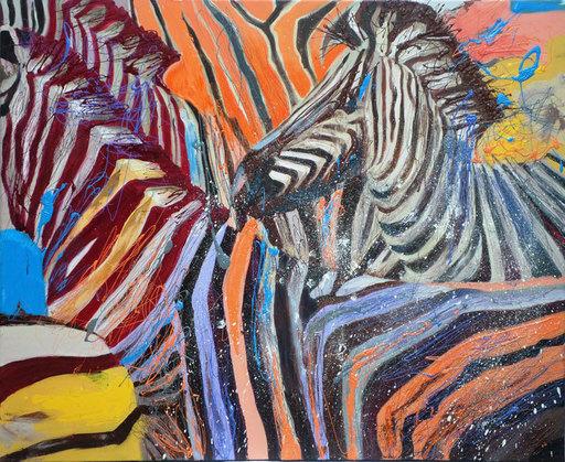 Peny MANAVI - Painting - Animal Kingdom 8