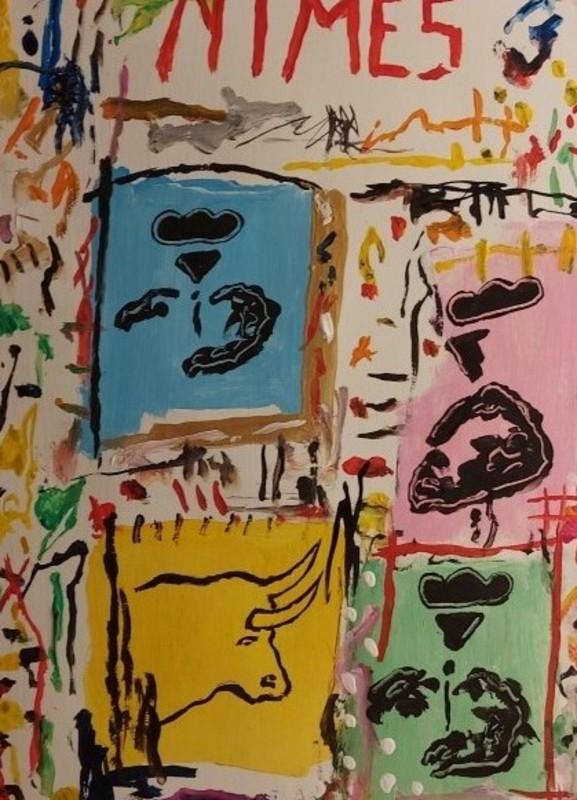 Michel TOMBEREAU - Gemälde - FERIA