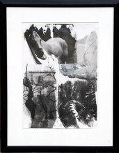 罗伯特•劳森伯格 - 版画 - Horse Silk from the Night Sights Series