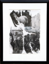 Robert RAUSCHENBERG - Grabado - Horse Silk from the Night Sights Series
