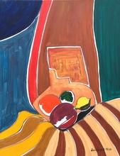 Christian DURIAUD - Pintura - Four fruits