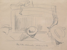 Edvard MUNCH (1863-1944) - Cabaret
