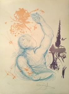 Salvador DALI - Estampe-Multiple - Madurez