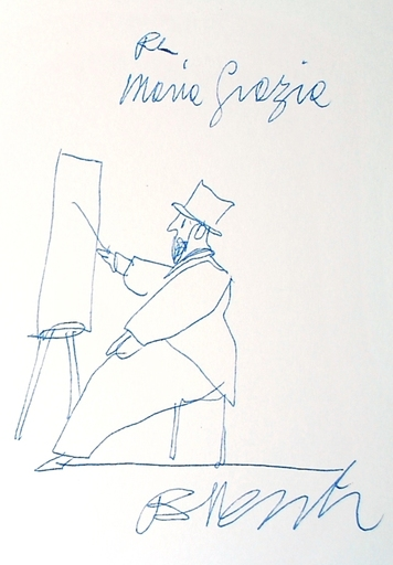 Antonio POSSENTI - Drawing-Watercolor - Per maria Grazia