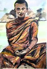 Déborah KIM (XX-XXI) - Bonze en méditation