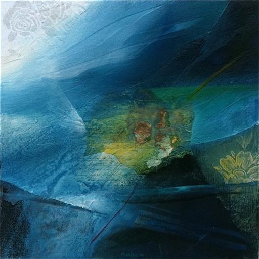 Fausto MINESTRINI - Pintura - La notte degli angeli