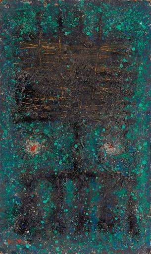 Akira KITO - Pintura - Zone verte