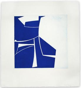 Joanne FREEMAN - Print-Multiple - Covers 2 Cobalt