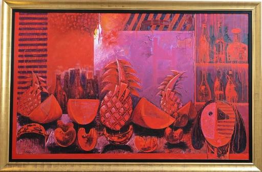 Vladimir CORA - Pintura - Bodegon in Red
