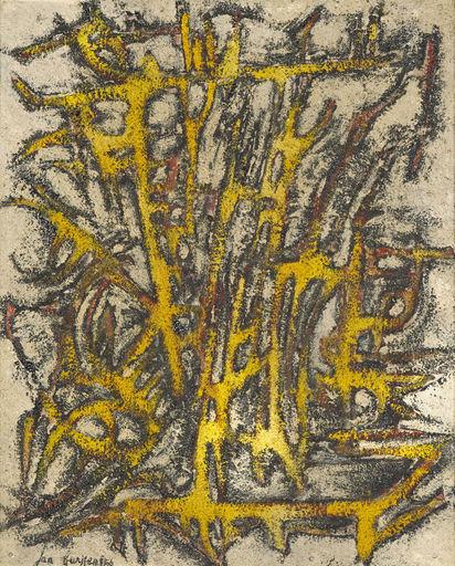 Jan BURSSENS - Gemälde - Compositie