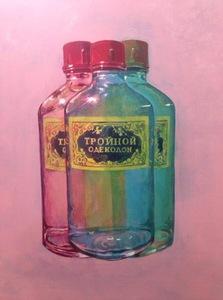 Damir MURATOV - Painting - Triple Eau De Cologne