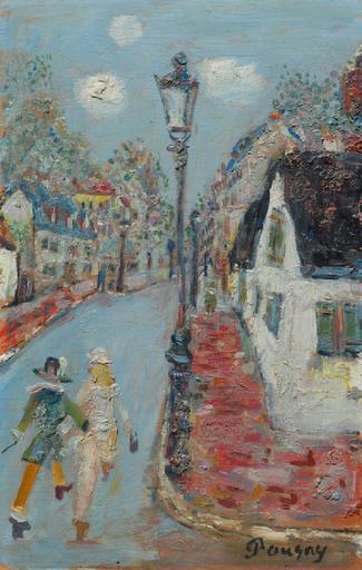 Jean POUGNY - Painting - Cityscape