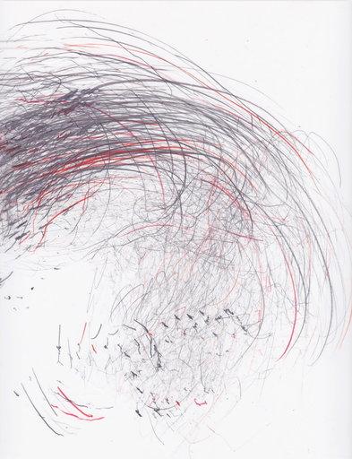 Jaanika PEERNA - Drawing-Watercolor - Screech of ice series 41