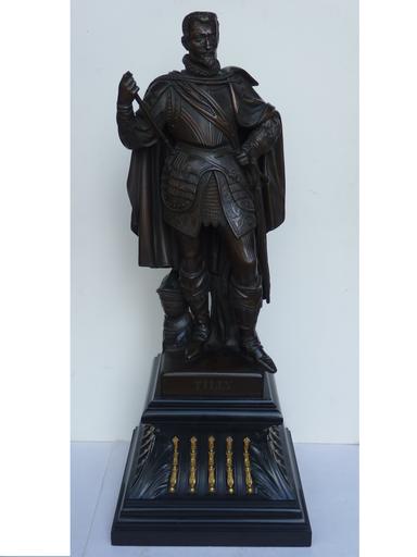 Ludwig VON SCHWANTHALER - 雕塑 - Le Comte de Tilly