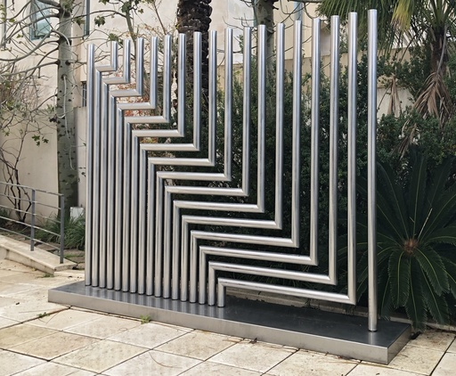 Yaacov AGAM - Sculpture-Volume - Eighteen levels