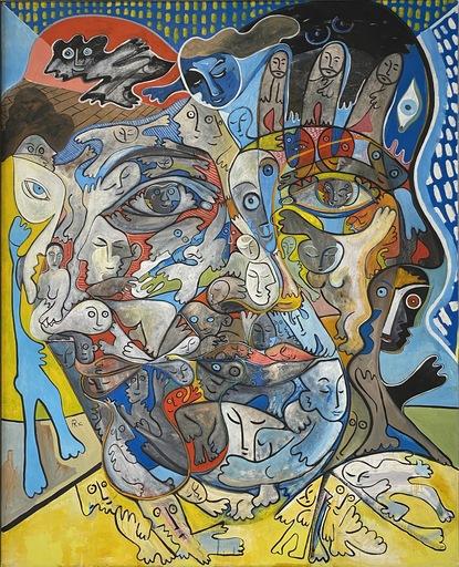 Alain ROTHSTEIN - Peinture - Rêve Cubisant