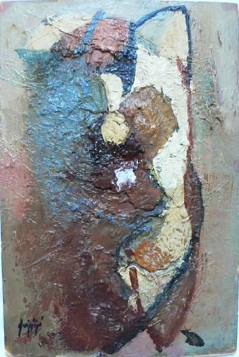 Manolo RUIZ PIPO - Peinture - Nu mouvementé