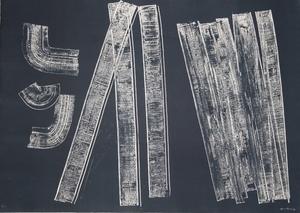 Hans HARTUNG - Estampe-Multiple - Untitled II