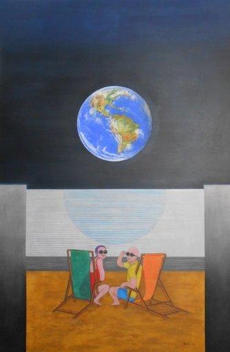 Christian SATIN - Peinture - Earthlight    (Cat N° 5929)