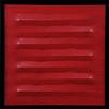 Agostino BONALUMI - Pintura - Rosso