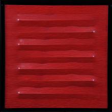Agostino BONALUMI - Peinture - Rosso