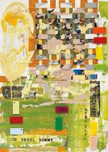 Martin KIPPENBERGER - Drawing-Watercolor - Ohne Titel (der Onkel kommt)